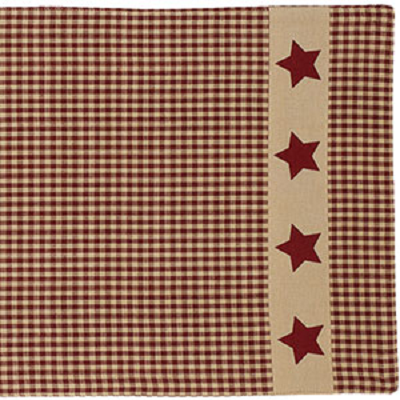 Colonial Star Table Runner