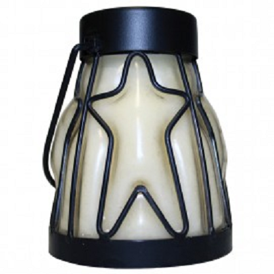 A Cheerful Giver Creamy Vanilla Hanging Star Lantern Candle