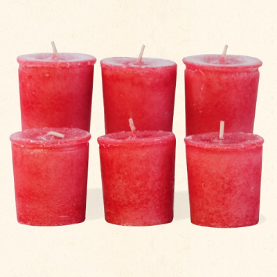 Crossroads Six Pack Apple Cinnamon Votives