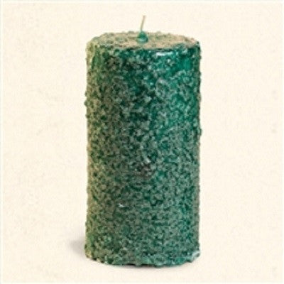 Crossroads Original Designs Balsam Fir Scented Six Inch Grubby Pillar Candle