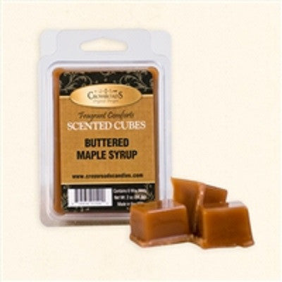 Crossroads Buttered Maple Syrup Scented Cubes Wax Melts