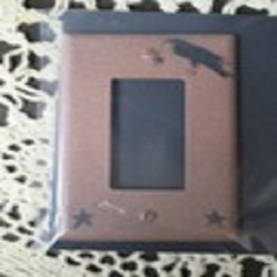 Primitive Crow GFI Outlet Cover