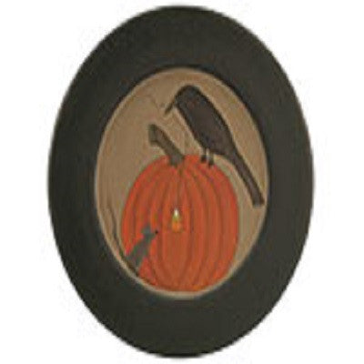 Crow Mouse & Pumpkin Plate
