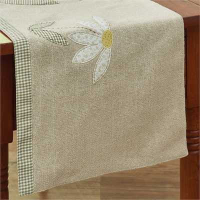 Daisy 42 Inch Table Runner