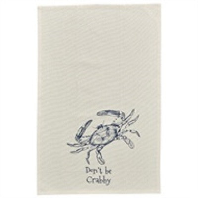 Don't Be Crabby Dishtowel