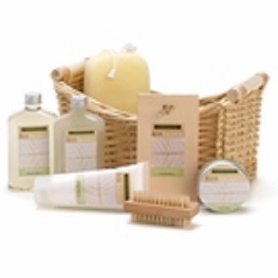 Lemongrass Eucalyptus Bath Spa Basket