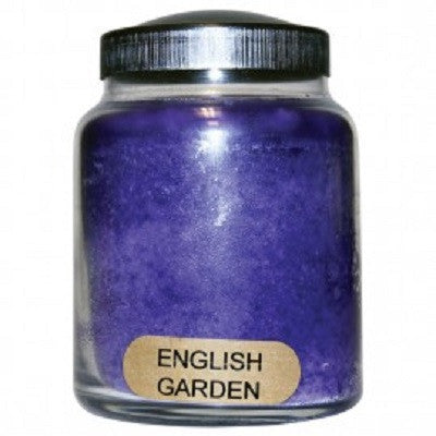 English Garden Baby Jar Candle