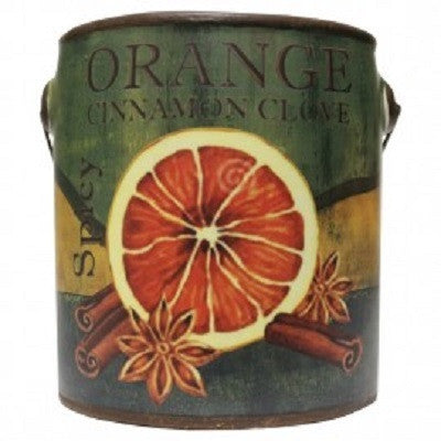 A Cheerful Giver Orange Cinnamon Clove 20 Oz Farm Fresh Candle