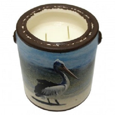 "A Cheerful Giver Crisp Cotton ""Pelican"" Candle"