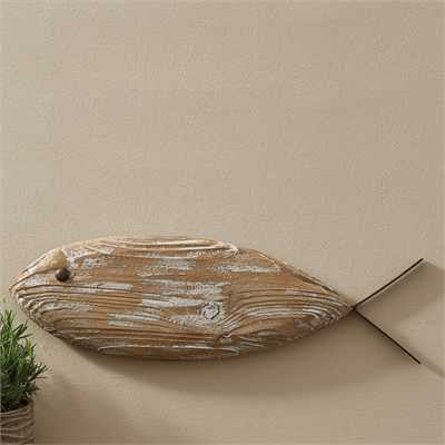Fish Wood & Metal Wall Art