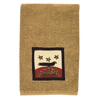 Sunflower & Crow Hand Towel