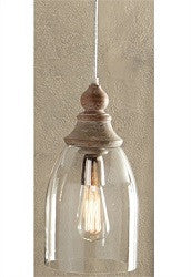 Glass Bell Pendant Lamp