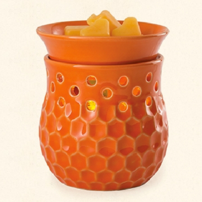 Honeycomb Glimmer Wax Warmer