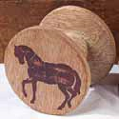 Horse Wooden Spool