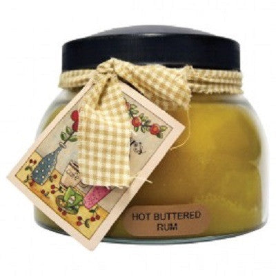 A Cheerful Giver Hot Buttered Rum Scented Jar Candles