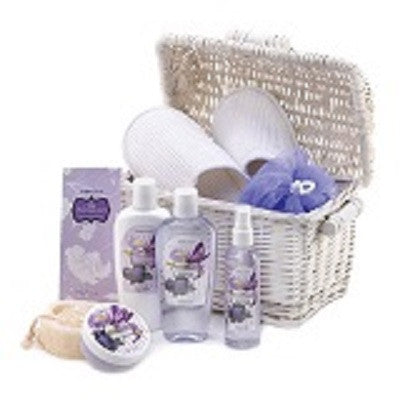 Iris Blueberry Spa Gift Basket