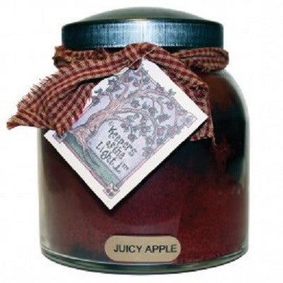 Juicy Apple Papa Jar Candle by A Cheerful Giver