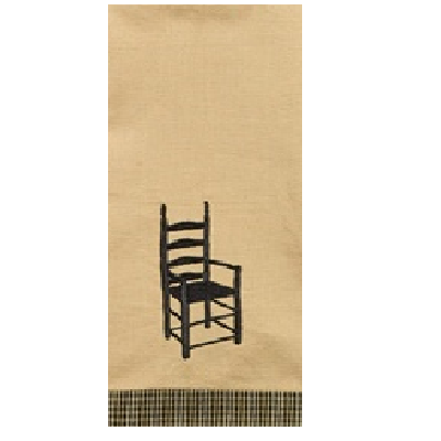 Ladder Back Chair Dish Towel