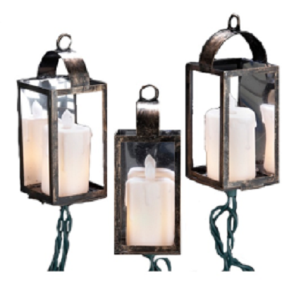 Kurt S. Adler Lantern Light Set