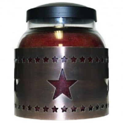 Star Cut Out Candle Sleeve