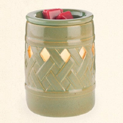 Ceramic Lattice Illumination Warmer
