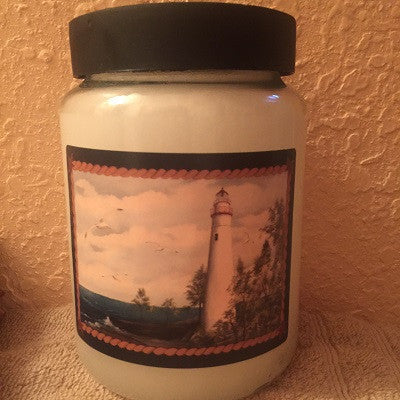 "Crossroads 26 Ounce Earthly Esscence ""Lighthouse"" Candle"