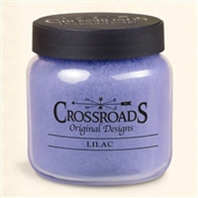 16oz Crossroads Original Designs Lilac Scented Jar Candle