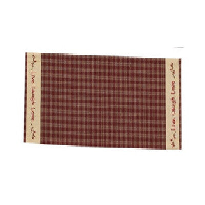 Sturbridge Live Laugh Love Table Runner