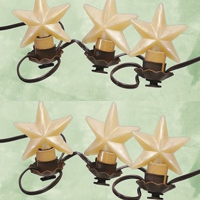 Vickie Jeans Creations ~ Warm Star Bulbs