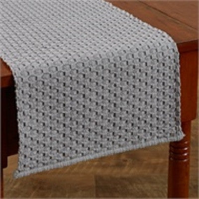 54 Inch Chadwick Table Runner ~ Mist