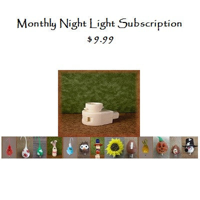 Monthly Novelty Nightlight Subscription  Auto renew