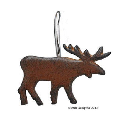 Moose Shower Hooks