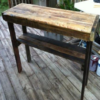 Hand Crafted Pallet Table