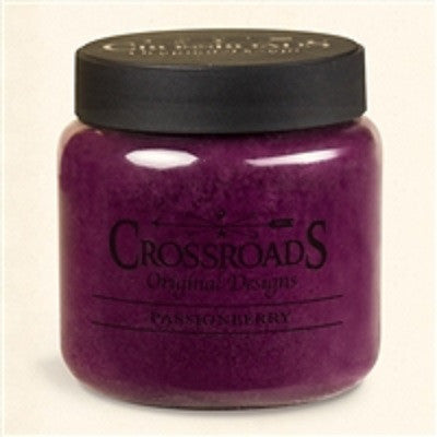 Crossroads Original Designs Passionberry 16 oz Scented Jar Candles