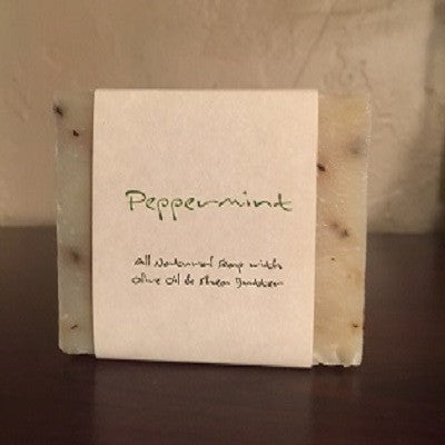 Peppermint Scented Bar Soap