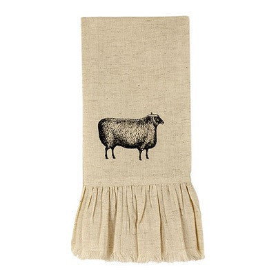 Primitive Sheep Flax Towel