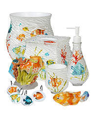 Rainbow Fish Bath Coordinates by Creative Bath