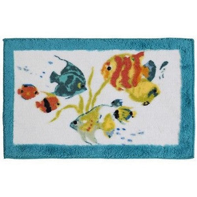 Creative Bath Rainbow Fish Bath Mat