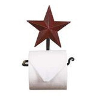 Red Star Toilet Paper Holder