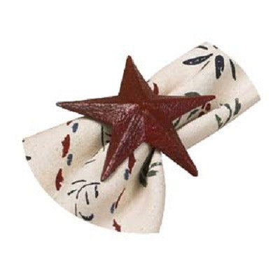 Red Star Napkin Ring