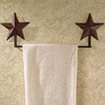 Red Star Towel Bar