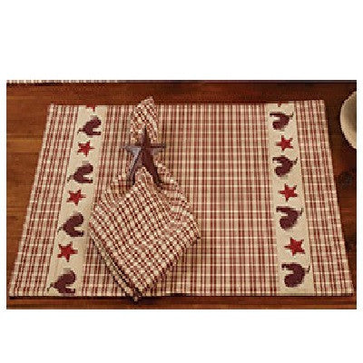 "Stars ""N"" Rooster Placemat"