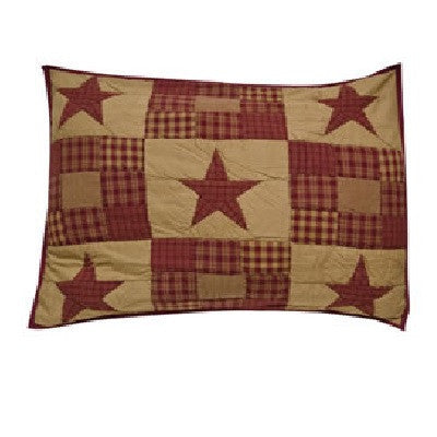Rustic Star Pillow Sham