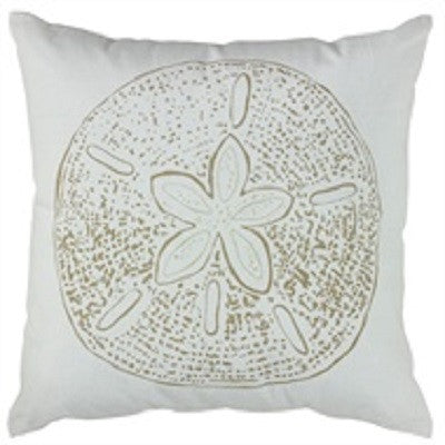 Sand Dollar Print 20 Inch Pillow Cover