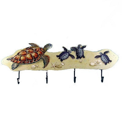 Sea Turtle Hook Rack