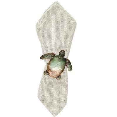 Sea Turtle Napkin Ring.