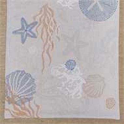 Sea Life Table Runner ~ 36 Inches