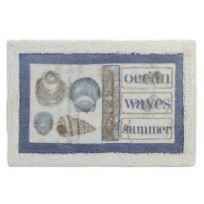 Seaside Bath Mat by Creative Bath
