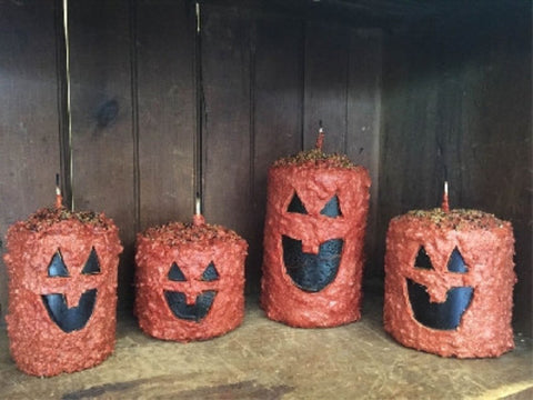 Scented Jack O Lantern Hearth Candle