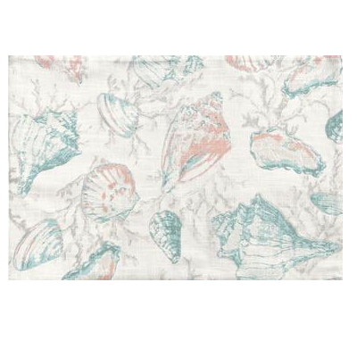 Seychelles Reversible Shell/Coral Placemat